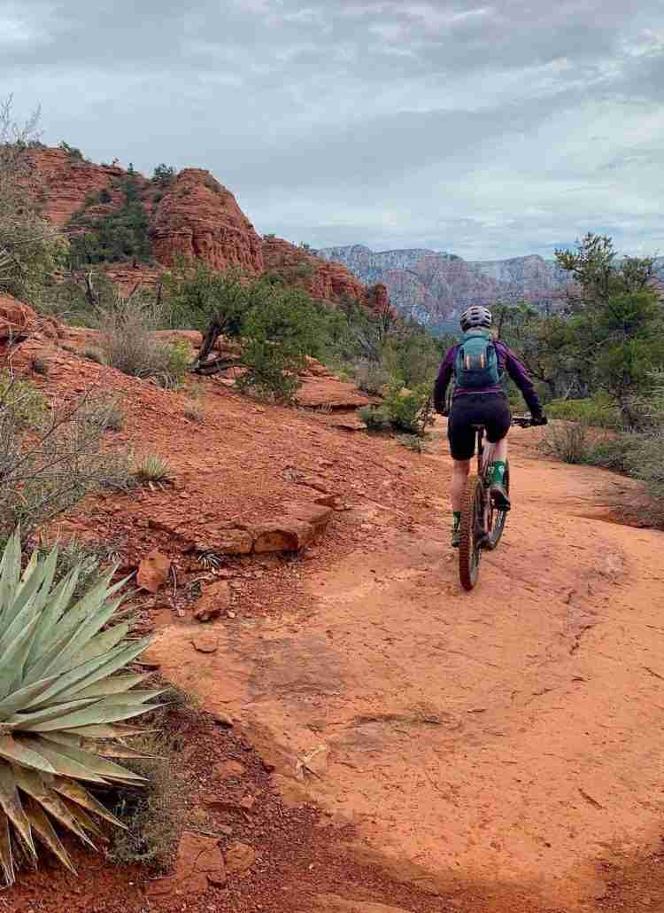 Discover the best Sedona mountain biking with this complete guide including how to link up trails, where to eat, bike shops, and more.