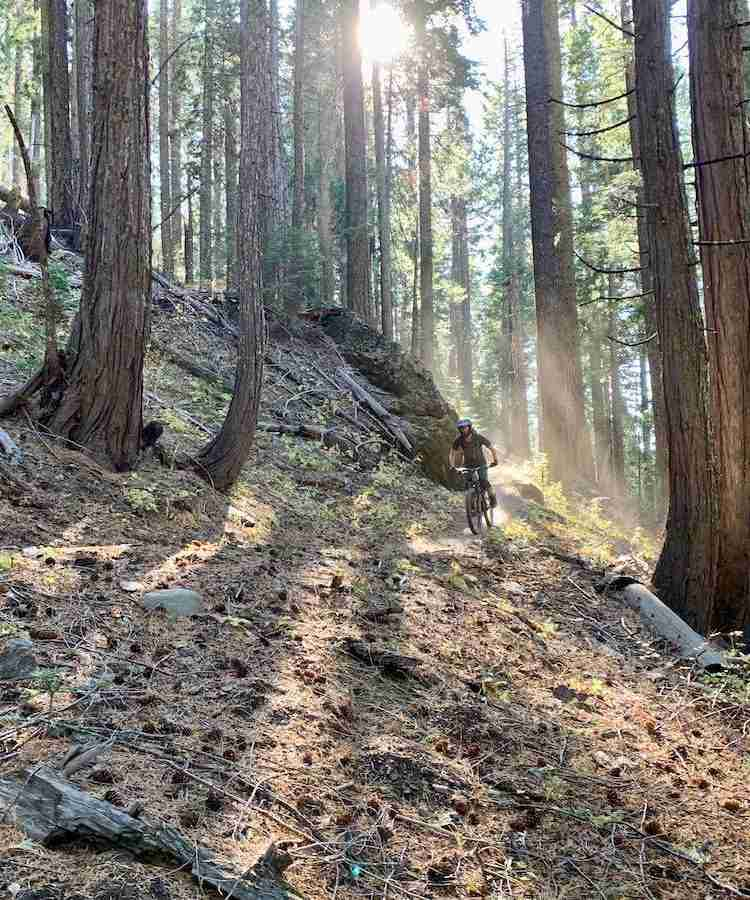 Use this 3-day Downieville mountain biking itinerary to plan your trip to Downieville including where to ride, where to camp, and more!