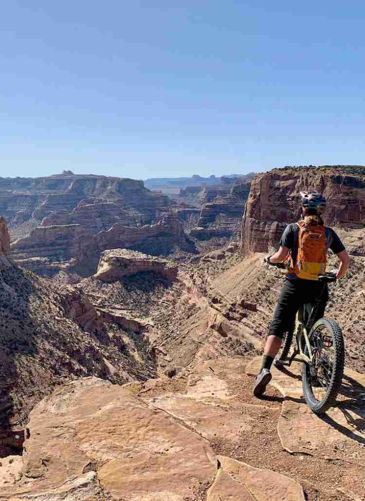 Learn more about the Good Water Rim Trail, a unique and off-the-beaten-path mountain bike ride in Utah suitable for all levels.