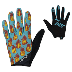 Handup Gloves // Find the best gifts for mountain bikers including practical ideas, thoughtful gifts, gifts for female mountain bikers, and inexpensive items