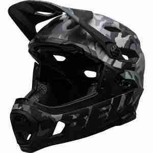 Bell Super DH Helmet // Find the best gifts for mountain bikers including practical ideas, thoughtful gifts, gifts for female mountain bikers, and inexpensive items