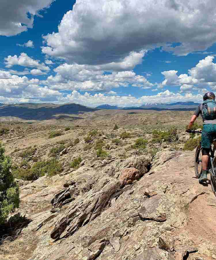 Discover the best Hartman Rocks mountain biking including which trails to ride, how to link them up, where to camp, and more!