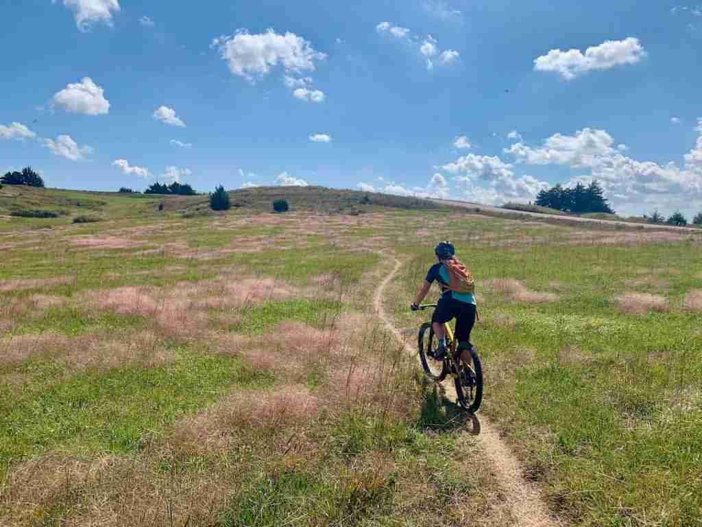 Learn everything you need to know about the Switchgrass mountain bike trails in Kansas plus a few other things to do in Wilson State Park