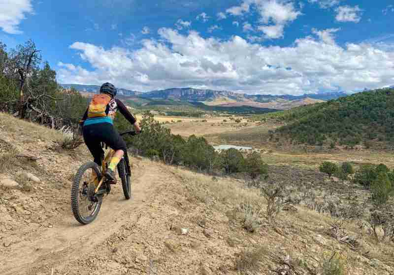 Learn everything you need to know about mountain biking the RAT Trails in Ridgway, CO including best trail link-ups, trail tips, and more!